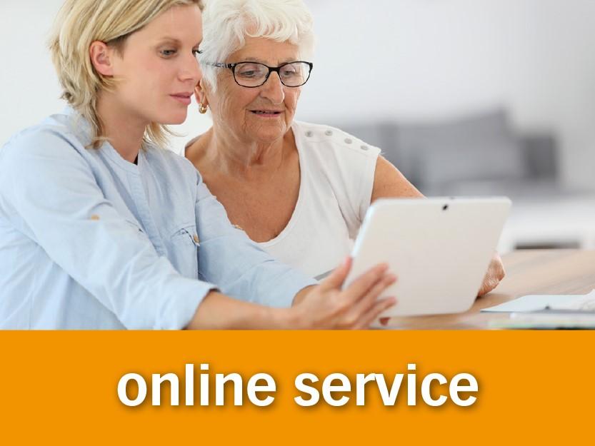 zorgbalie online service