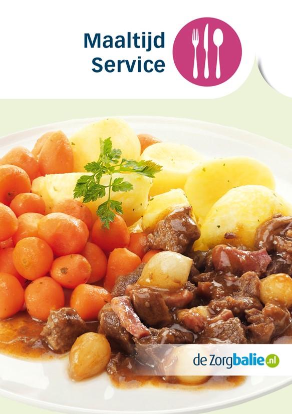 Flyer Zorgbalie maaltijd service